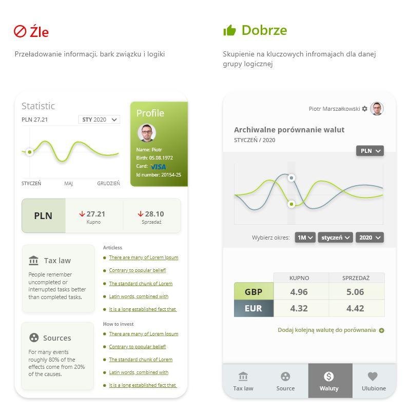 projektowanie aplikacji mobilnych - mniej znaczy więcej